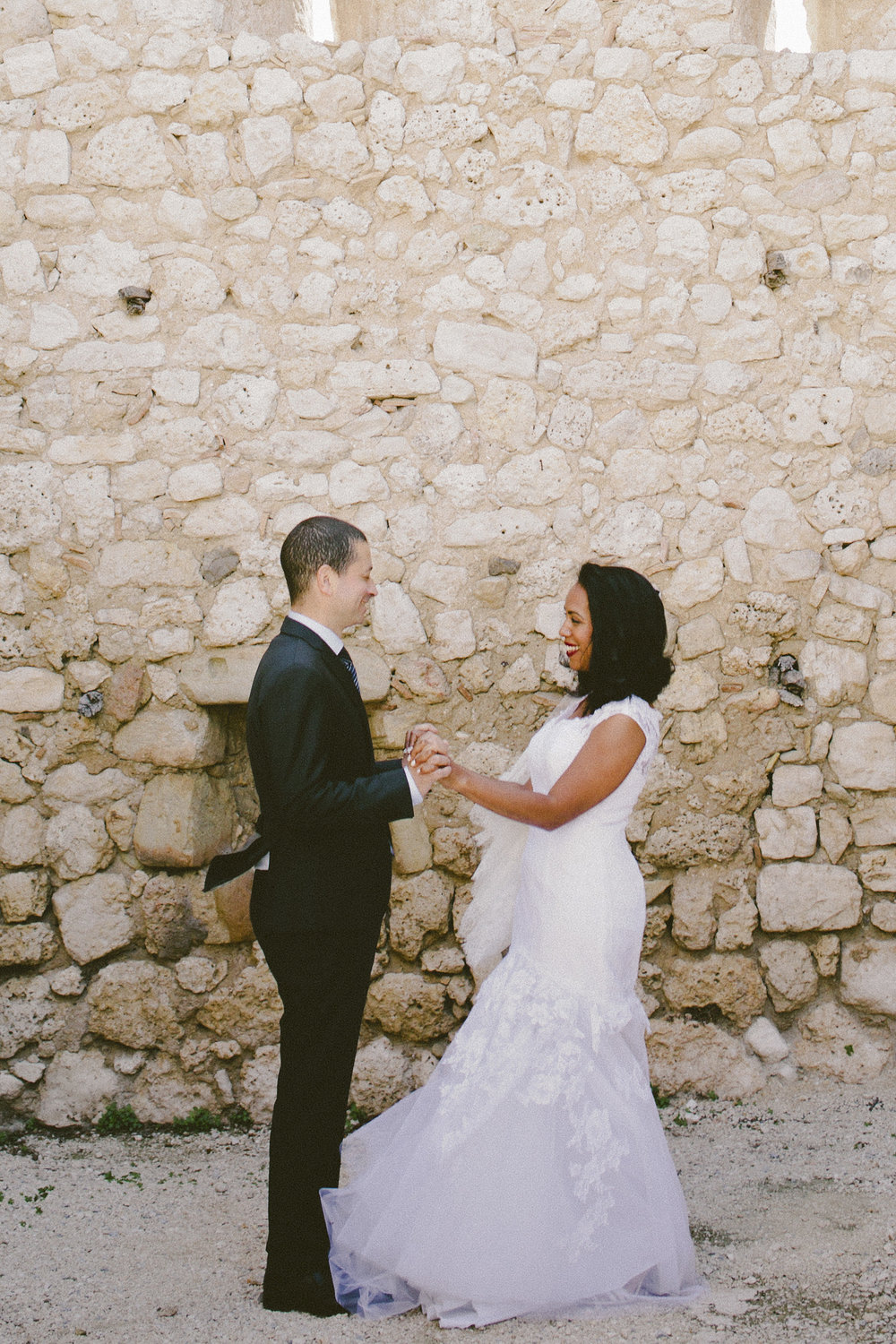 First Look, South of France | Amy Emily Photography