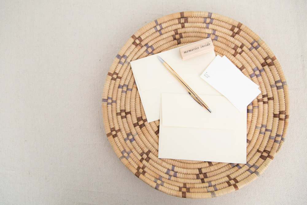 Memories Inside | Letter Writing Accent Stamps | Of Note Stationers