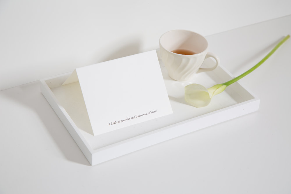 I think of you often | Of Note Stationers