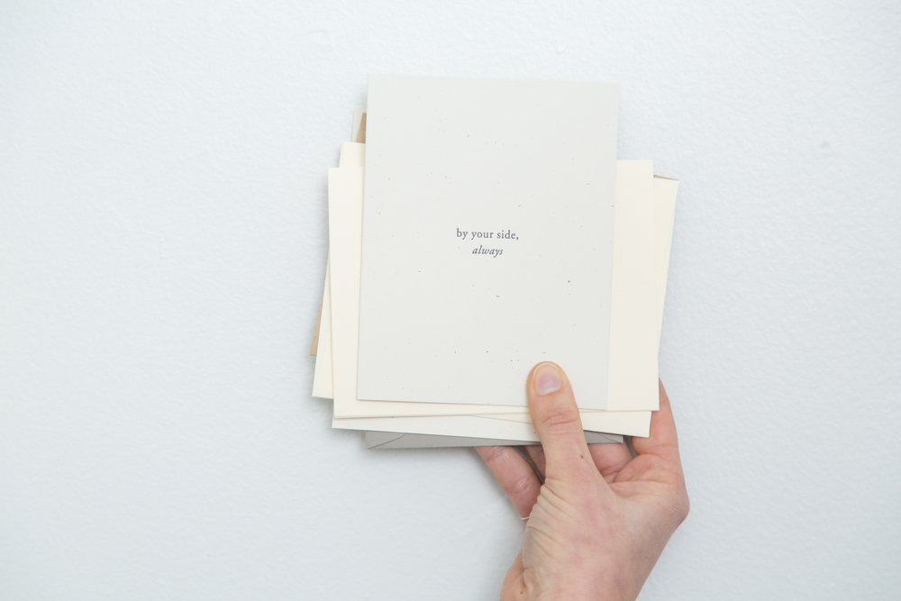 By your side, always | Of Note Stationers