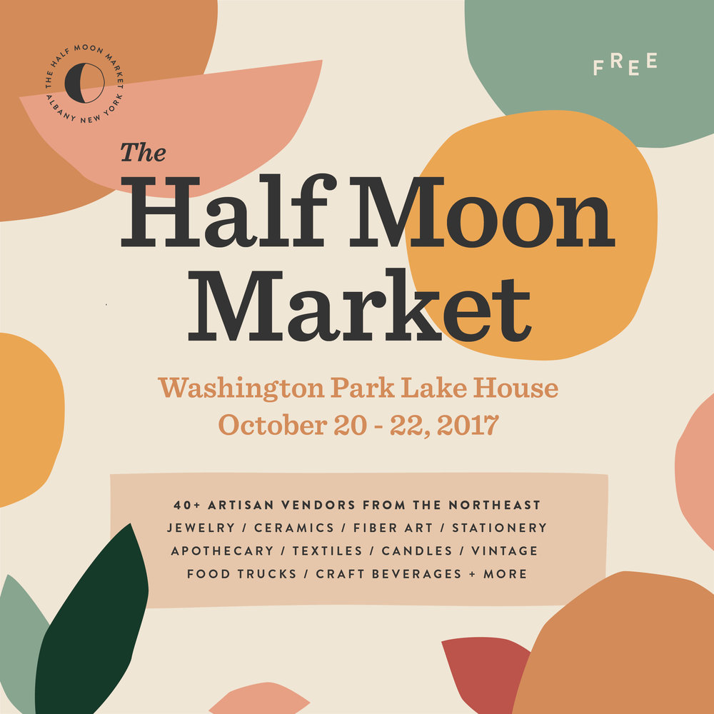 Half Moon Market | Of Note Stationers