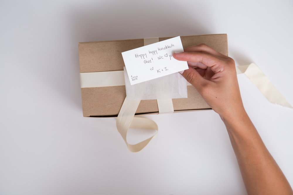 Little Notes that make simple yet elegant gift tags.