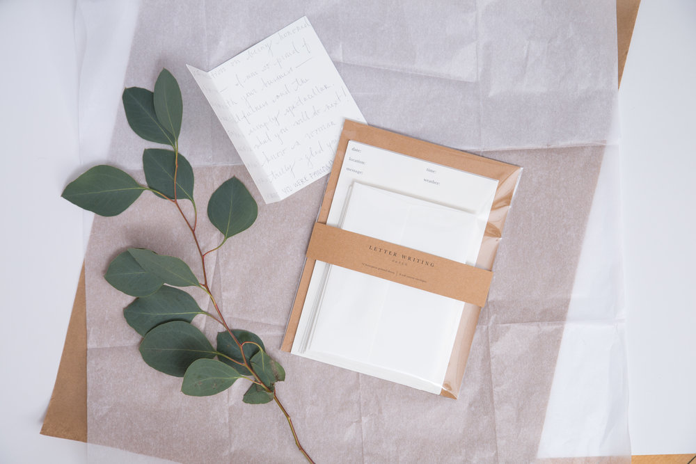 Letter Writing Paper | Boston Magazine Gift Guide | Of Note Stationers