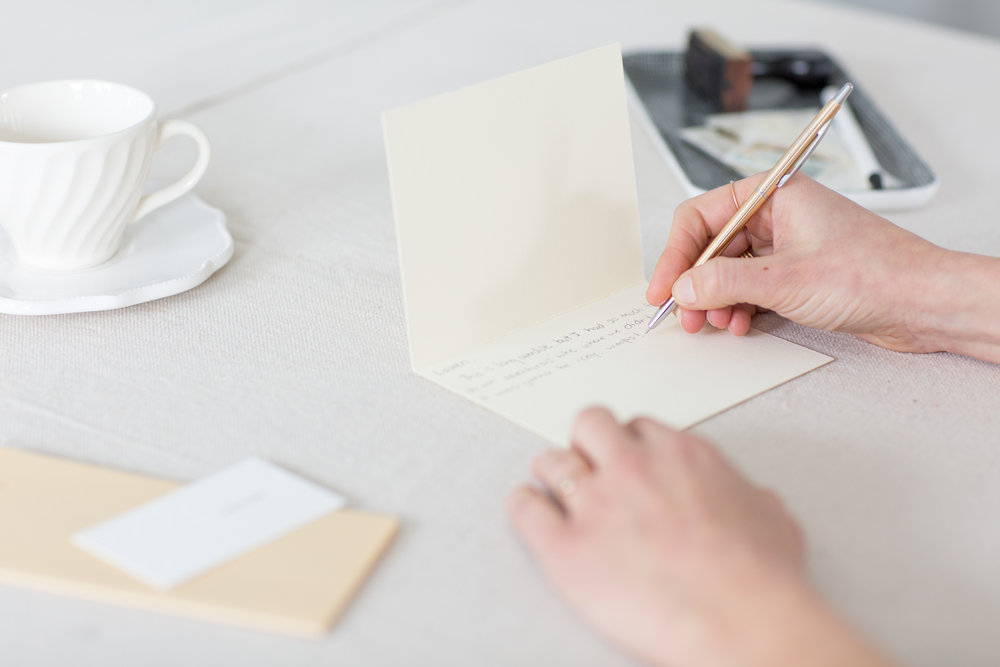 The power of letter writing to heal | Of Note Stationers