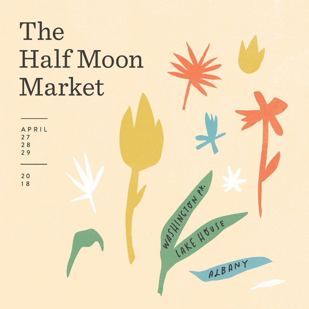 Half Moon Market | Albany | April 2018