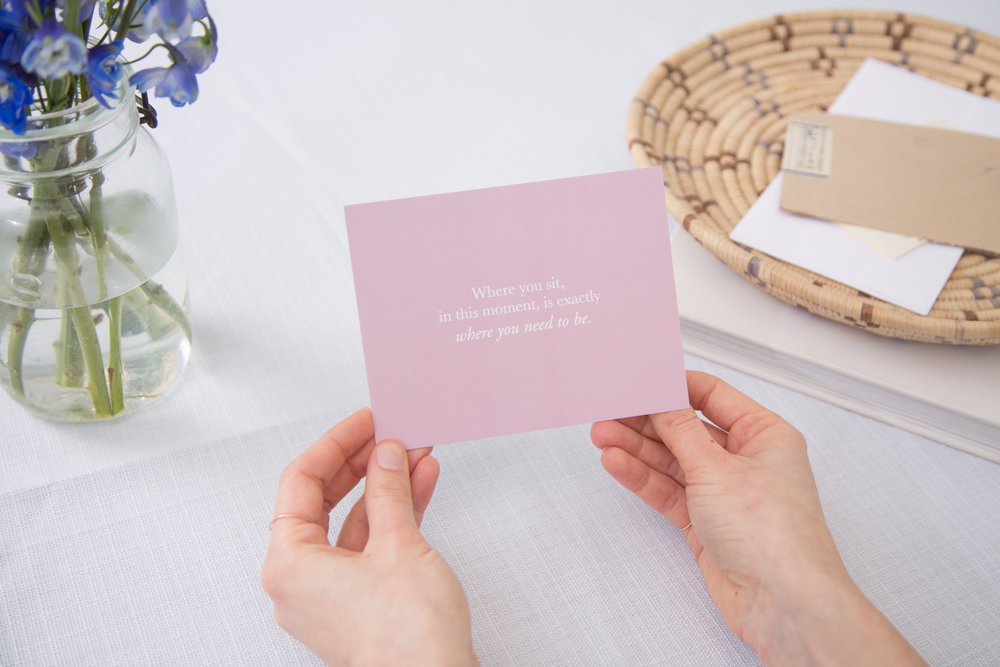Our newest release, the  Pass it On  kits, designed to encourage and spread the magic of corresponding.