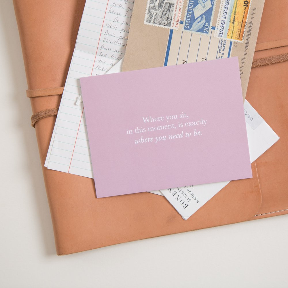 Connecting meaningfully with our Pass it On kits | Of Note Stationers