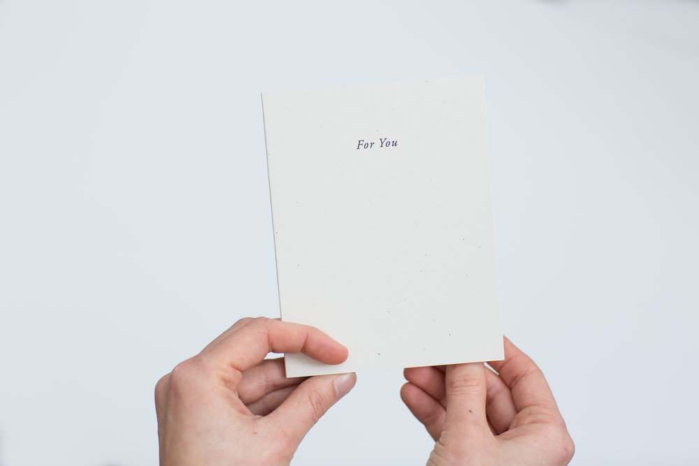 Commemorate your Wedding Day with these Letterpress Cards | Of Note Stationers