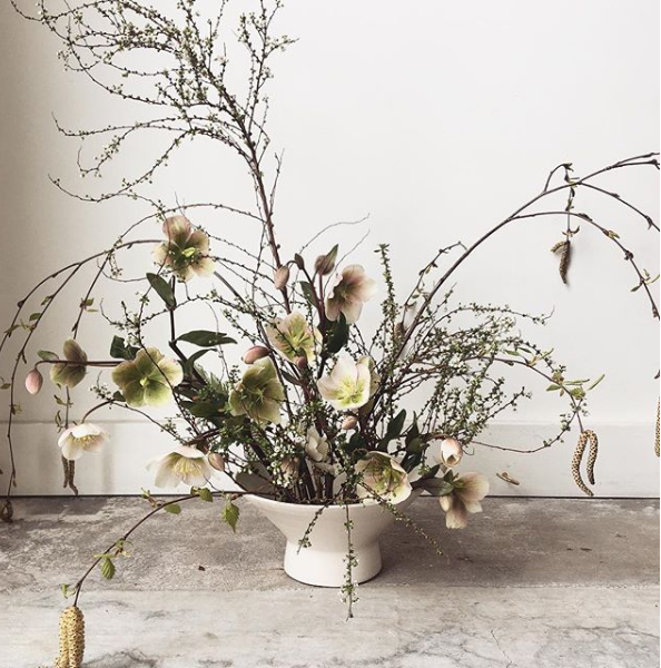 The Meditative process of floral arranging, an interview with Ladies of Foret | Of Note Stationers
