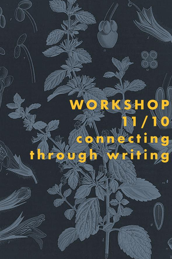 Connecting Through Writing | at Plant Workshop in Cape Cod | Of Note Stationers
