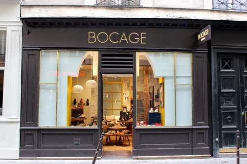 Boutique shoe shop Bocage opens in Paris's Marais district as historic neighborhood continues to change...