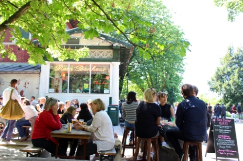 The city's best gay terrace: Rosa Bonheur