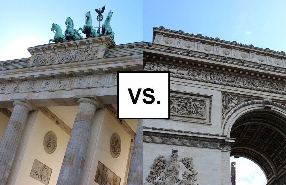 Berlin Vs Paris