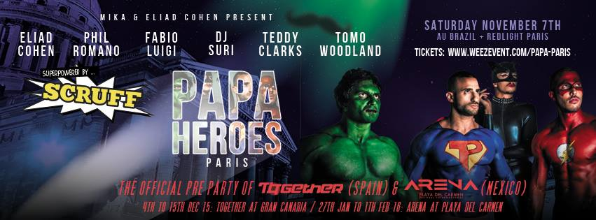 Papa Party Paris official poster
