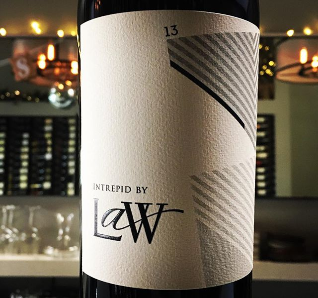 We leave 2016 on a high with this new arrival from @lawestatewines 2013 Intrepid Syrah! #pasorobles #westcoast #onlythebest #happyholidays #paso #syrah #unionstreet #marina #cowhollow #happynewyear #westcoastwine