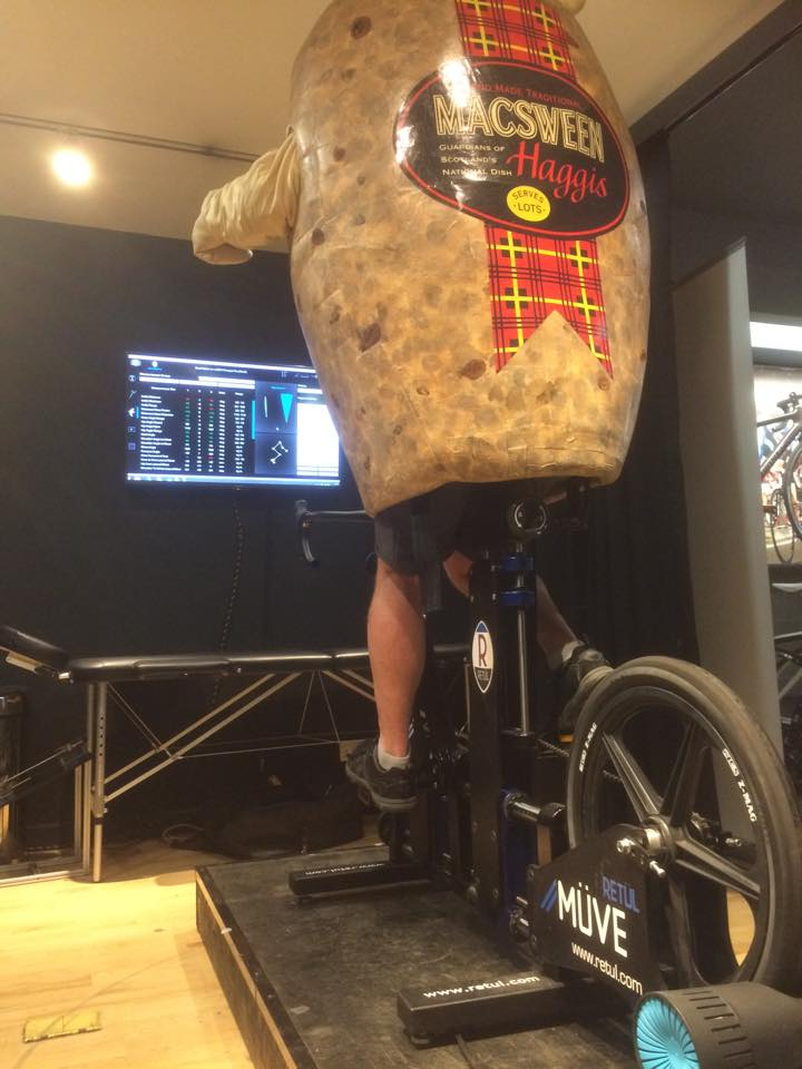 Bike Fitting a Haggis