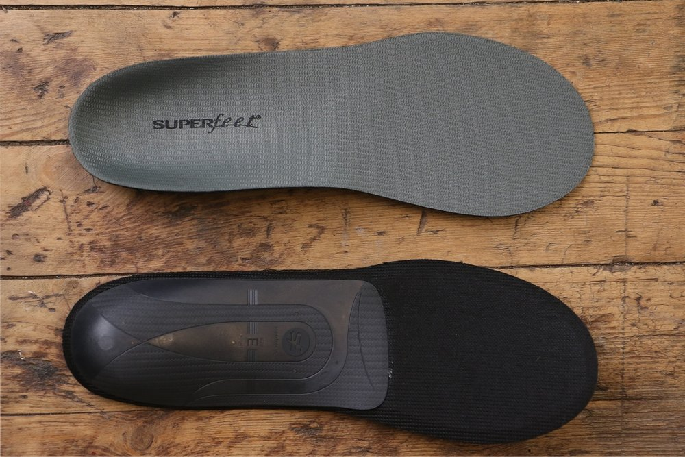 Custom insoles with FitPOD - Using our FitPOD we shape an insole to your foot allowing for maximum support, stability, and comfort while riding. The whole process adds approximately 30 minutes to a standard fit or is available as a stand alone service, Book Here.