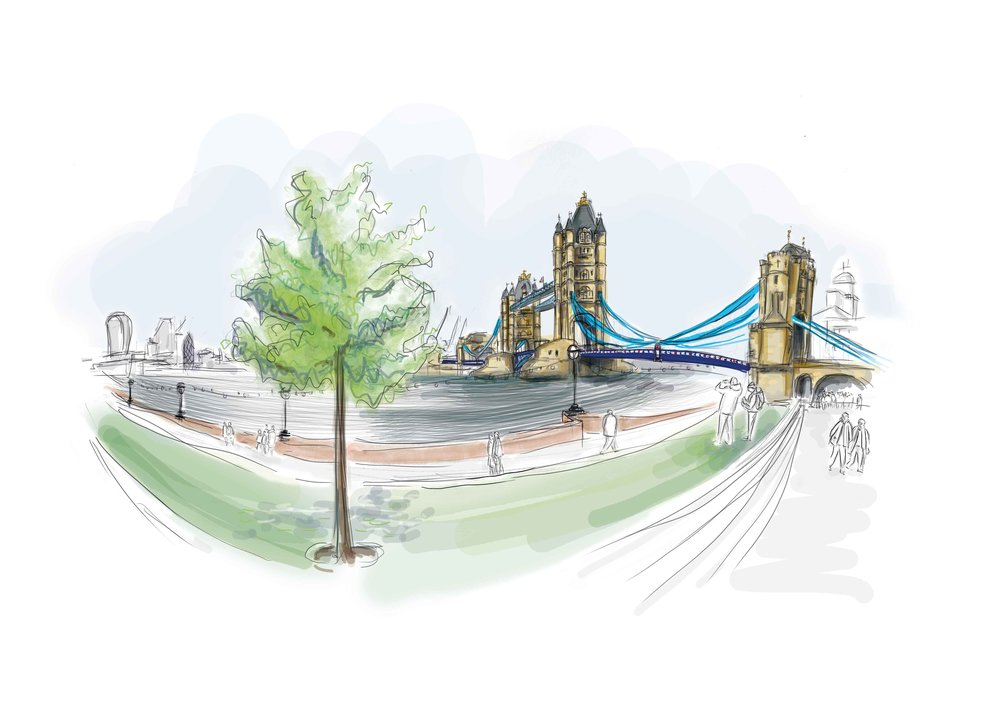 Tower Bridge - Private Commission