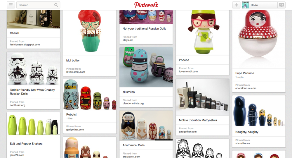 View the Pinterest Board