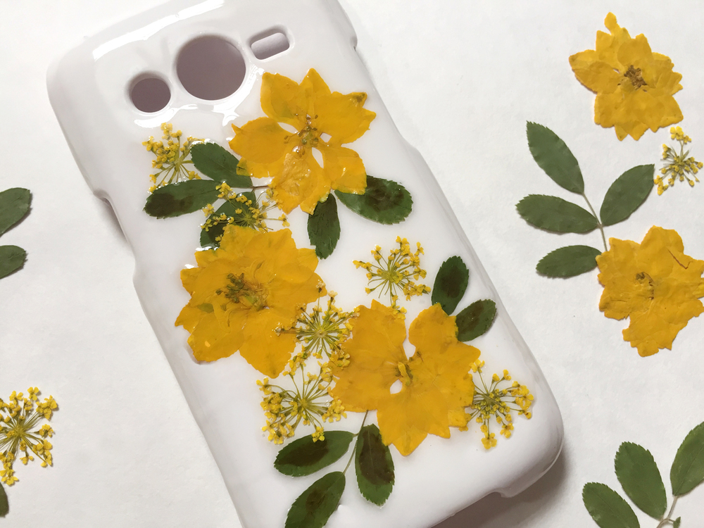 Thencomescolor diy pressedflower phonecase complete2