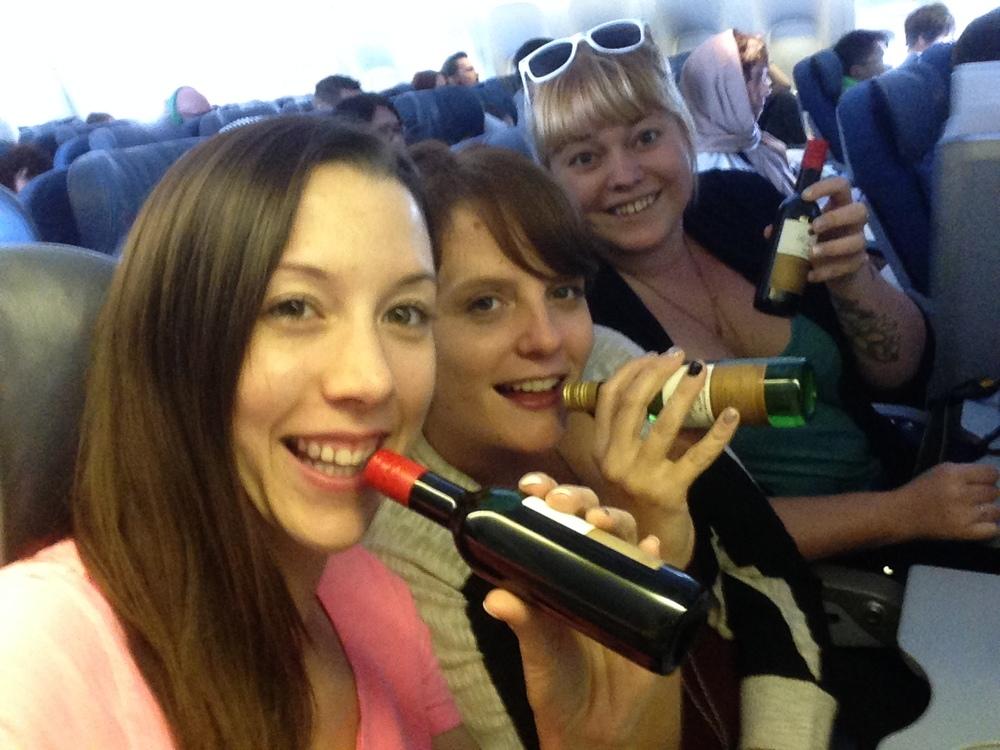 Tokyo wine on the plane.jpg