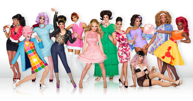 Cast of RuPaul's Drag Race season 8