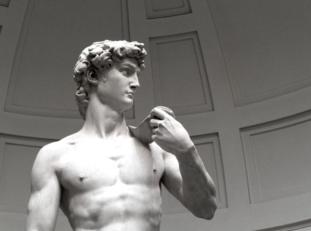 David , Michelangelo 1501-1504 Galleria dell'Accademia,Florence CC 2014  Rabe!