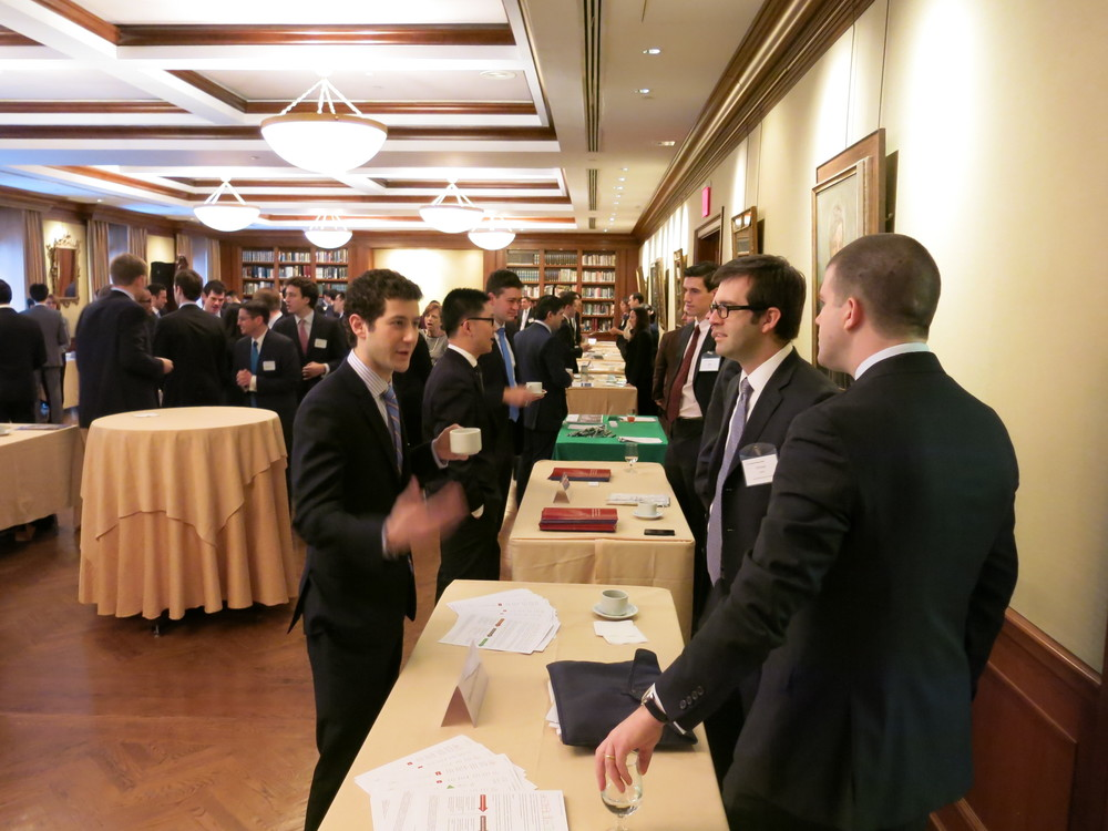 Above: The Fifth Annual REA Career Forum, February 2014. To learn more, contact our  VPs of Careers