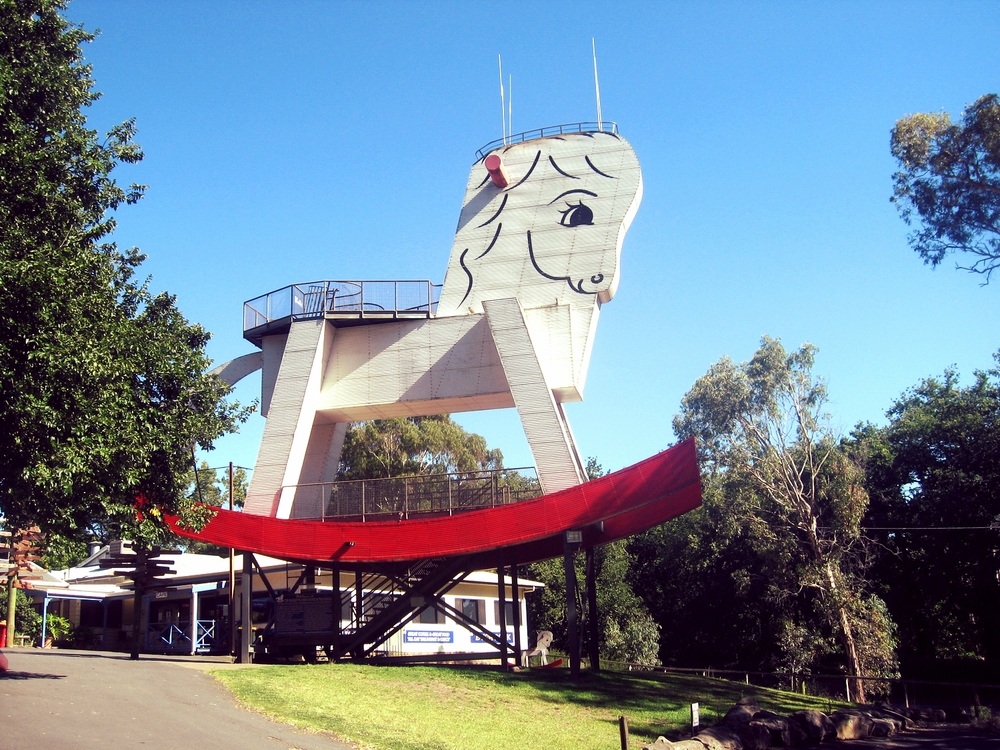The Largest Rocking Horse in the World