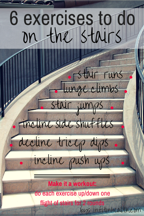 Exercises You Can Do On The Stairs