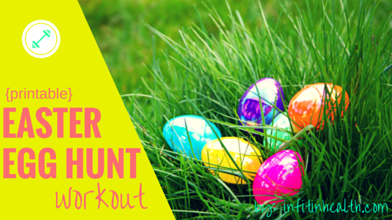 Printable Easter Egg Hunt Workout