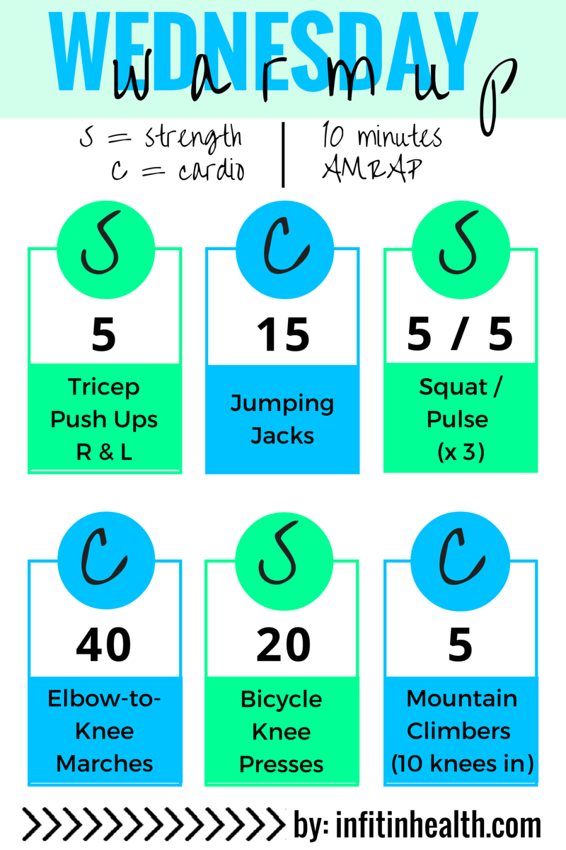 Workouts By Structure In Fitness And Health Superset Circuit Hiit Pinterest Wednesday Warmup 4 22 Cardio Strength Total Body Workout