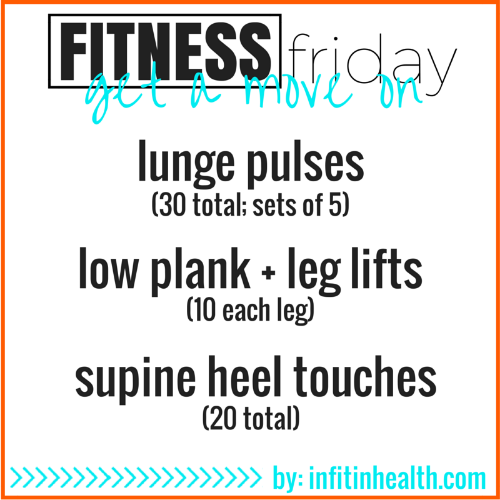 Fitness Friday #12