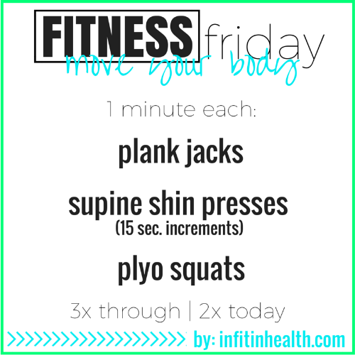 Fitness Friday - 9-minute Total Body Workout