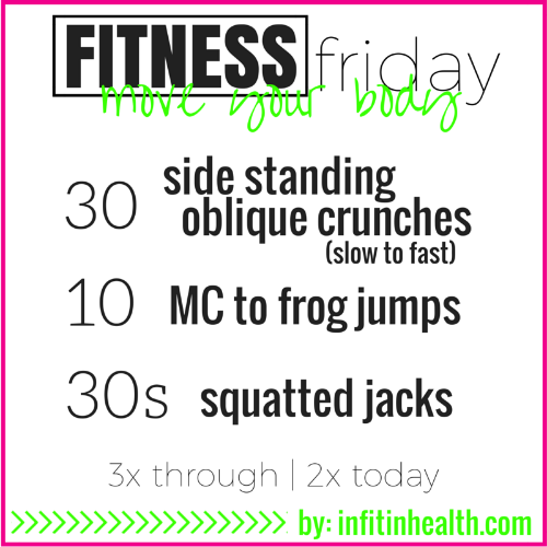 Fitness Friday 18
