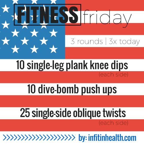 Fitness Friday Pre-Independence Day Workout