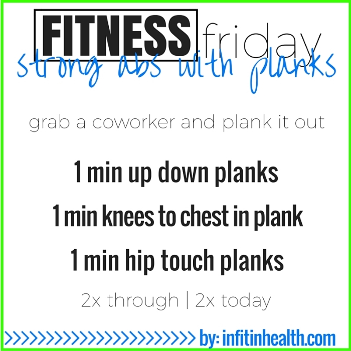 Fitness Friday 9/11: Strengthen Your Abs with Planks