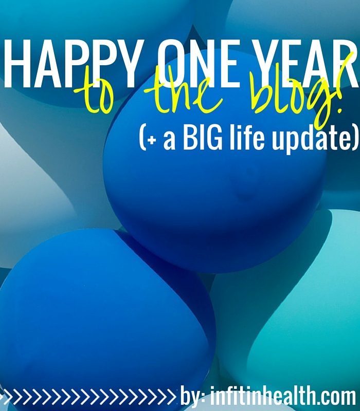 Happy One Year to the Blog!