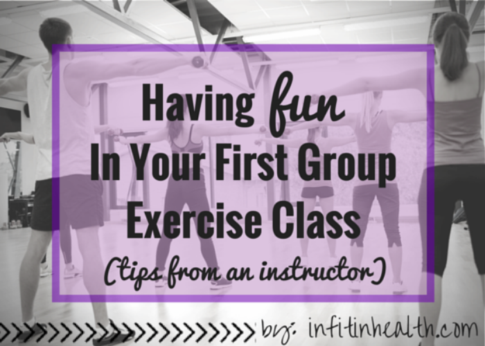 First Group Exercise Class