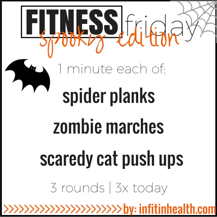 Fitness Friday 10/30: Spooky Edition
