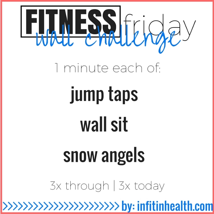 Fitness Friday 11/6: Wall Challenge