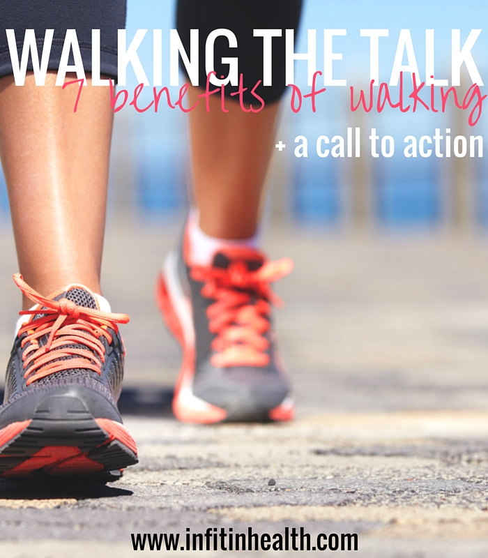Walking the Talk: 7 Benefits of Walking + The Surgeon General's Call to Action