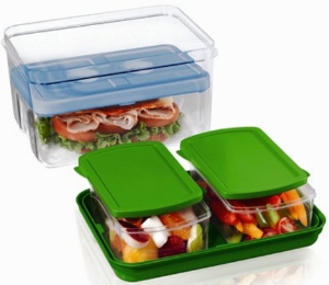 Fit & Fresh Lunch To Go Containers