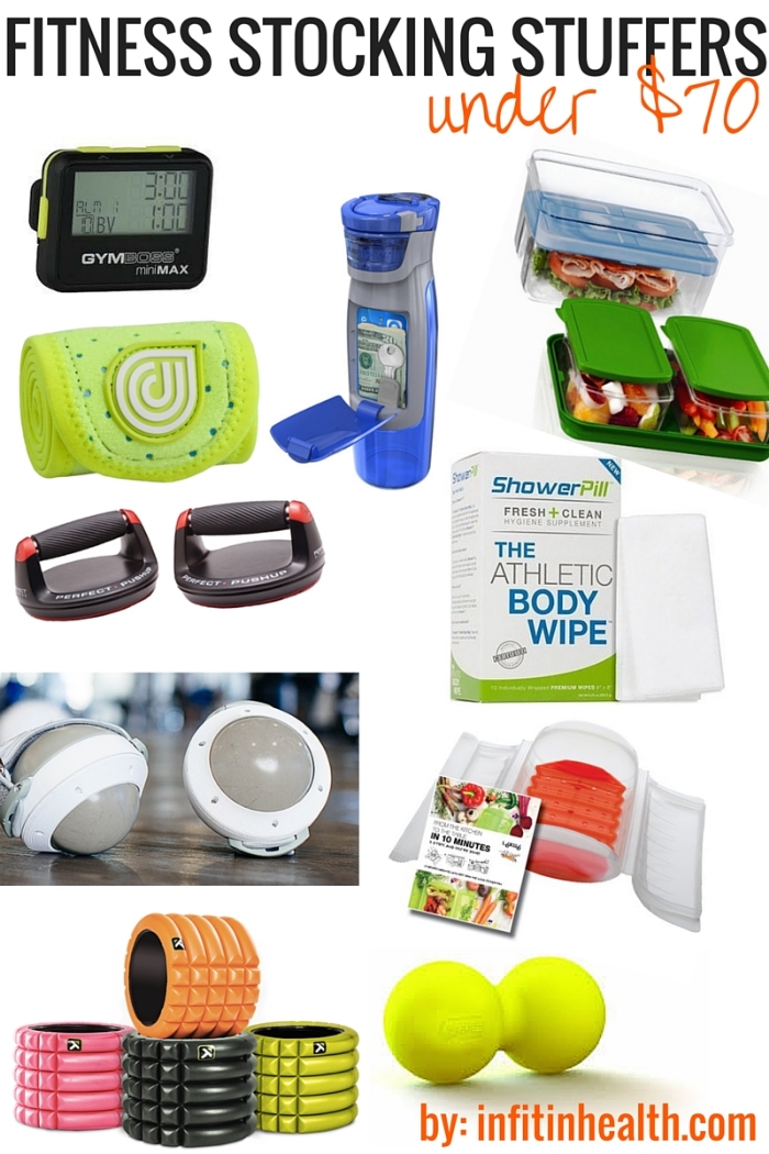 10 Health & Fitness Stocking Stuffers Under $70