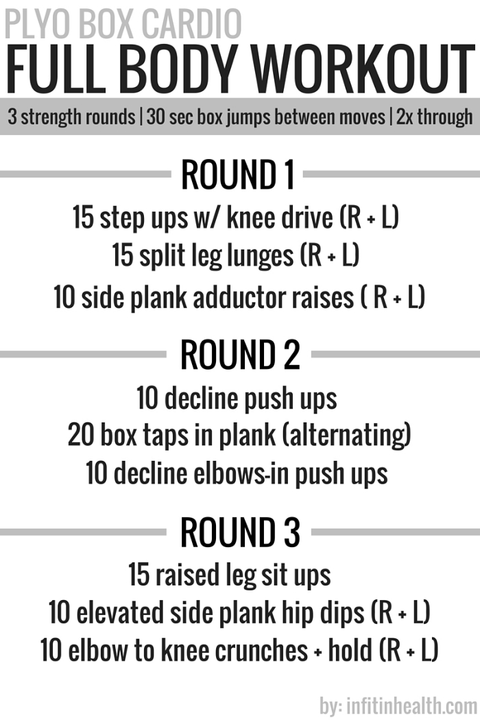 Plyo Box Cardio Full Body Workout