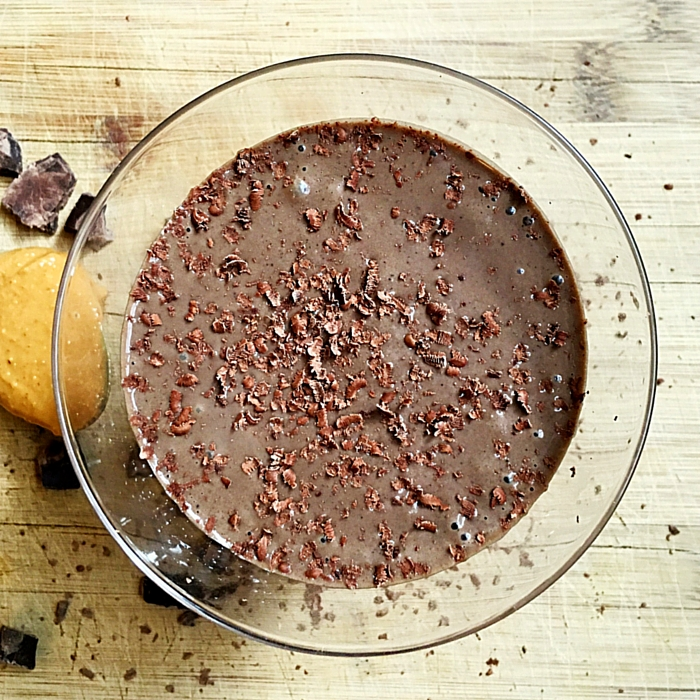 Dark Chocolate PB Ambronite Dessert Smoothie