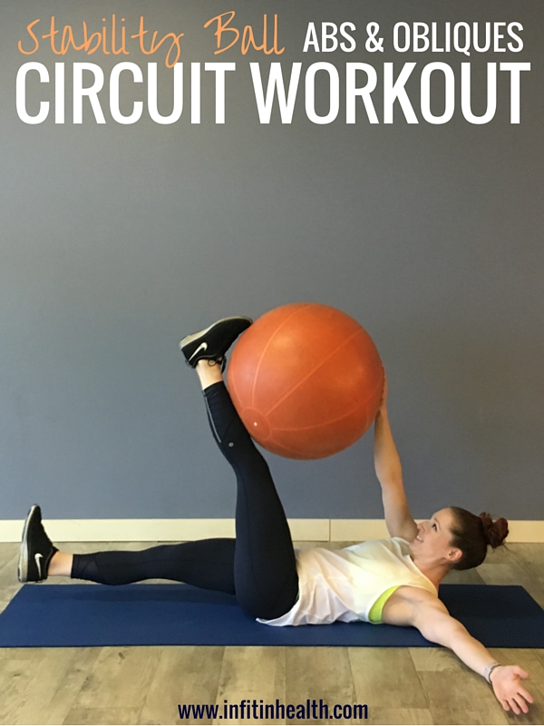 Stability Ball Abs & Obliques Circuit Workout