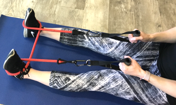 Resistance Band secure foot loop