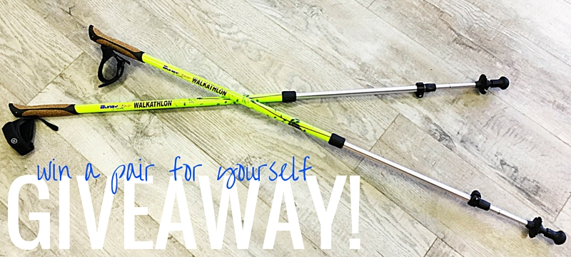 BungyPump Walking Poles Giveaway!