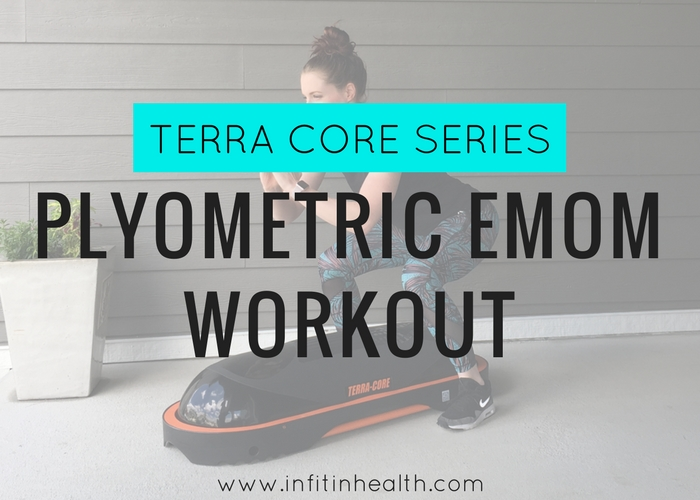 [Terra Core Series] 15-Minute Plyometric EMOM Workout | In Fitness and In Health